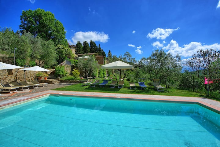 Fattoria - Vacation Rental with swimming pool in Chianti, Tuscany