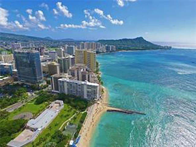 Best on the beach. Waikiki Shore Oceanview