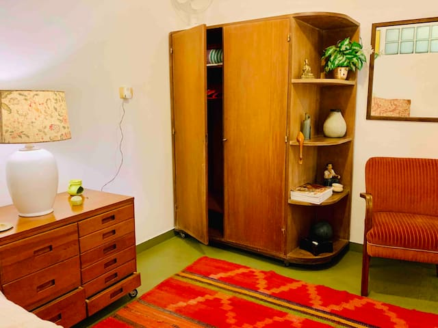 wardrobe in the second room