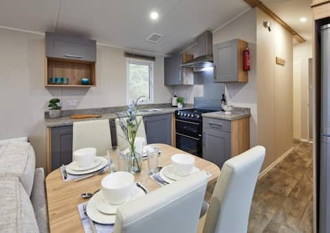 Brand new lodge Riverside Holiday Lodge, Southport