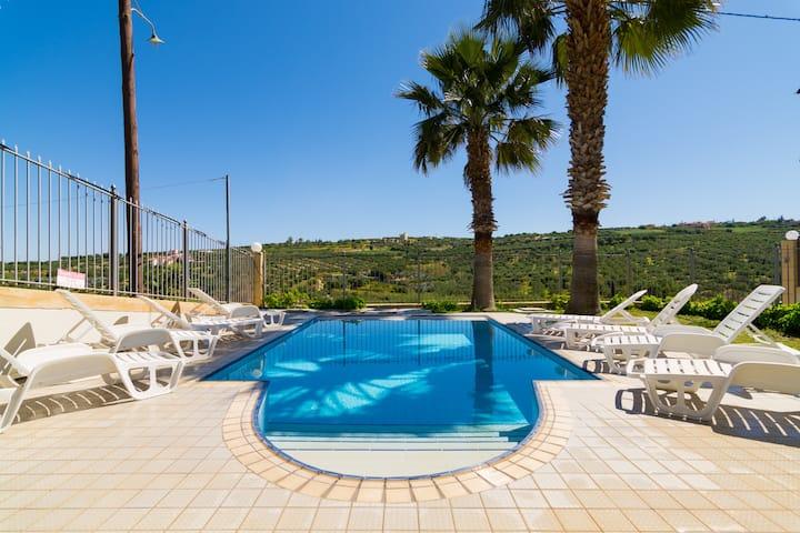 2 Private Villas 550m² Aris and Stratos Palace