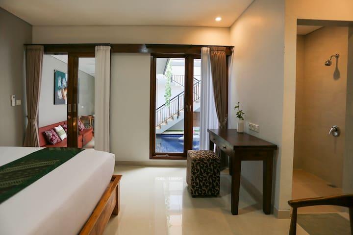 Family villa 2 bed room
