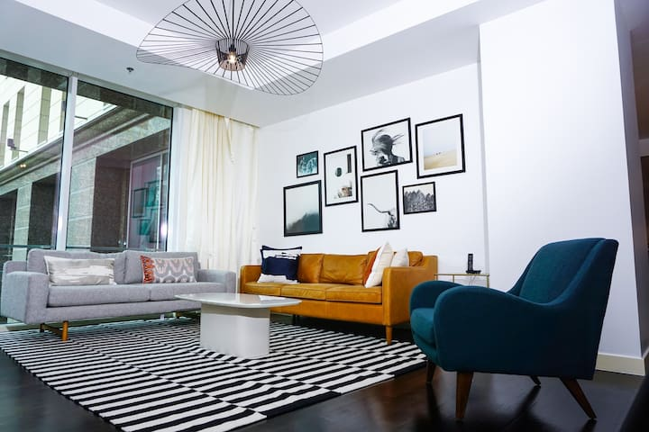 Limestone House DIFC contemporary apartment