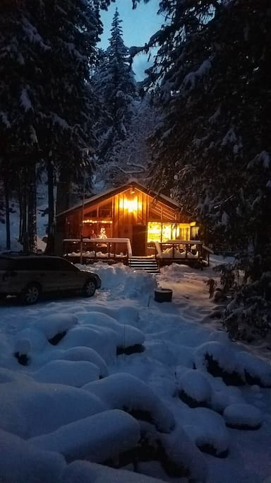 Cabin Winter
