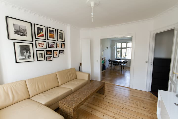 Bright 1 BR apartment in the center of Copenhagen.