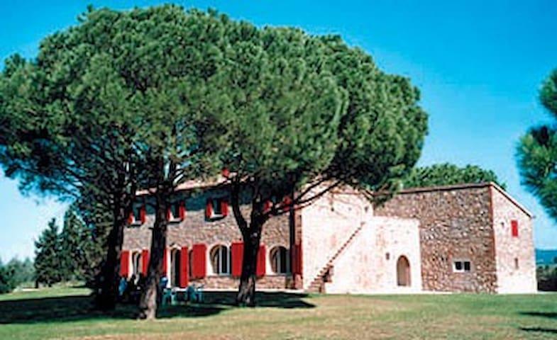 """Podere La Casa Rossa Wohnung """"Di Mezzo"""" - Bibbona - Pis"""