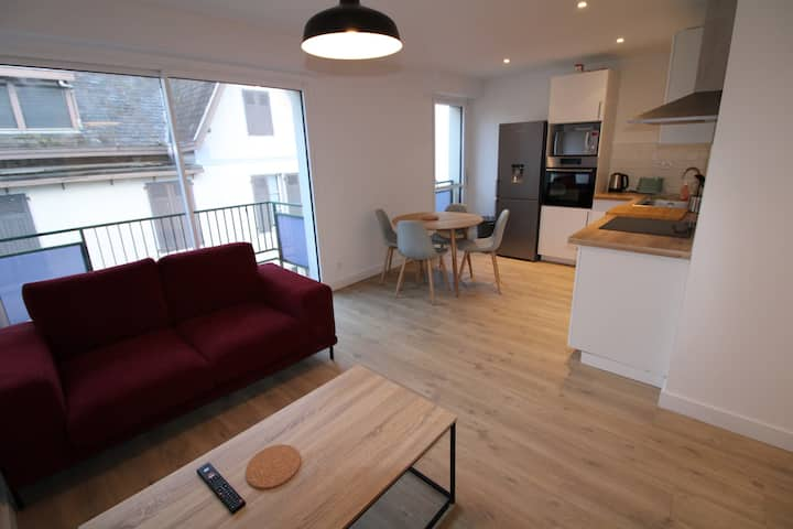Appartement moderne 3 pièces avec balcon !
