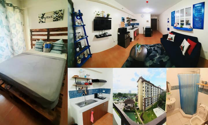 ★Lamitet Crib★ WIFI+balcony+pool @ City Center