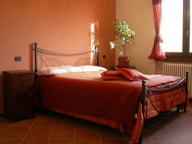 B&B - La Boscara vista San Leo - Maiolo - Bed & Breakfast