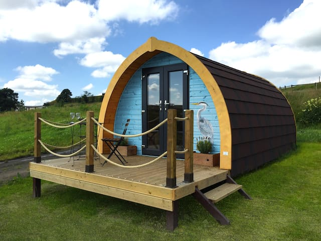 Glamping Pod with superb views - Lancashire - Pondok