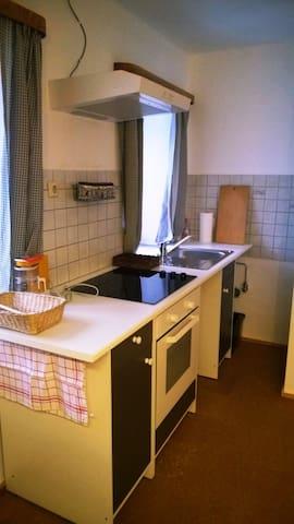 Die voll ausgestattete Küche ist allen unseren Gästen zugänglich!