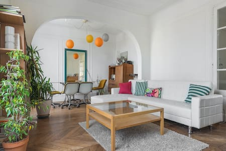 Bright and comfortable apartment, perfect for the travelling family