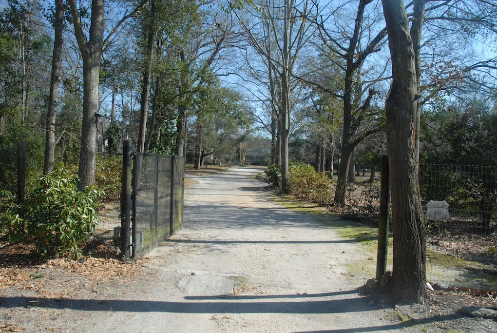 Private gated 30 acre equestrian estate