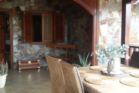 Habitación doble con baño privado - Сан-Мигель - Дом