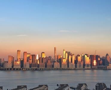 Comfy 3bd 20mins 2 NYC 2nd fl stunning views - Западный Нью-Йорк - Квартира
