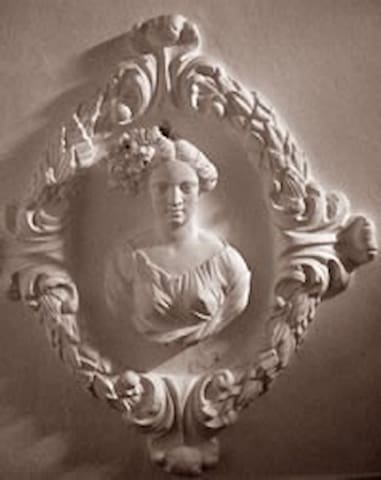 Schlossapartment -Detail aus dem Bad