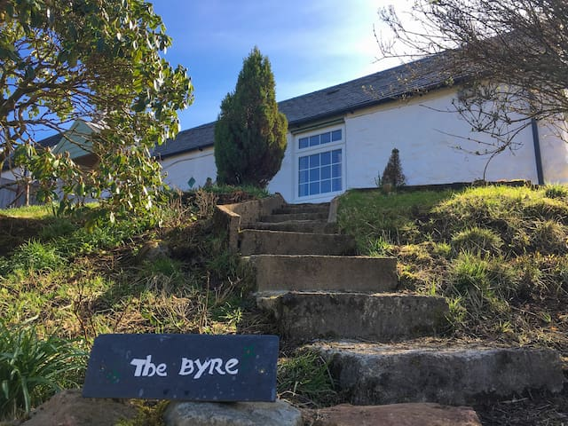 The Byre- a lovely farm cottage near Oban - Taynuilt  - Huis