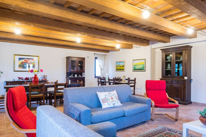 Beautiful cottage in the hills - Macerata - Huis