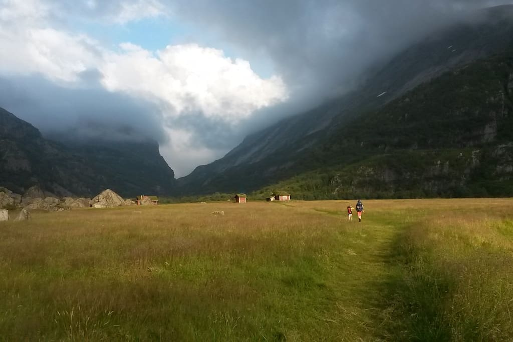 Viglesdalen in all its beauty. Trout fishing is great!