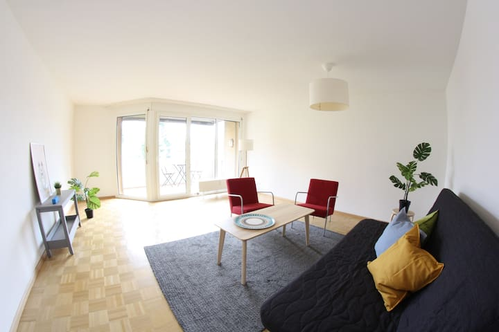 Bright and large 5-room apartment with 4 bedrooms