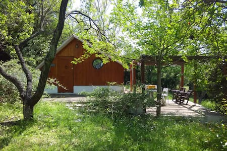 Wooden holiday house in Chalkidiki - Posidi - Casa