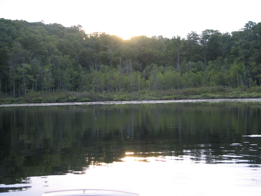 Baysville retreat on echo lake cottages for rent in for Echo lake ca cabine