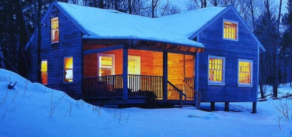 Cozy cabin in White Mountain National Forest