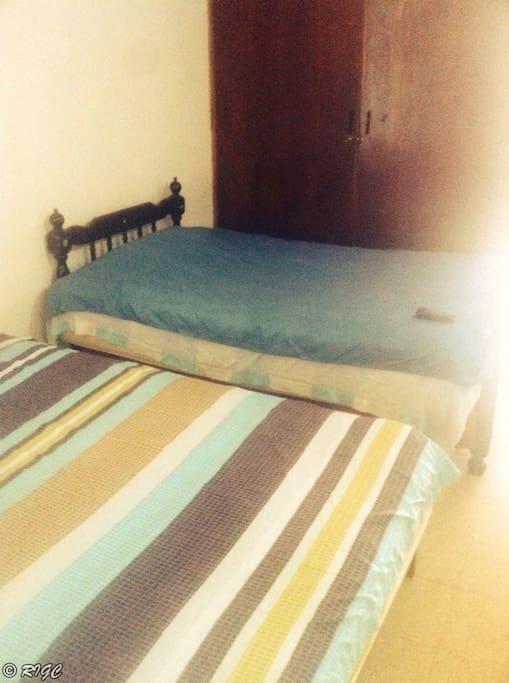 a cozy guest-room