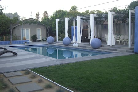 Poolside guest house in Willow Glen - San Jose - House