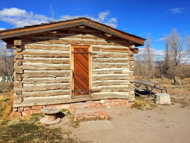 1865 Pioneer Cabin at Mystic Hot Springs