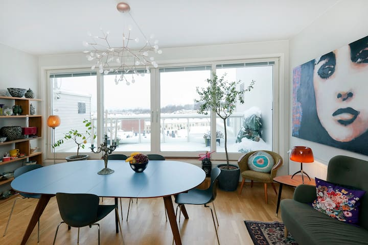 Wonderful view from modern loft - Oslo - Apartmen
