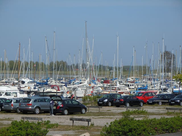 Der Yachthafen, immer ein Erlebnis