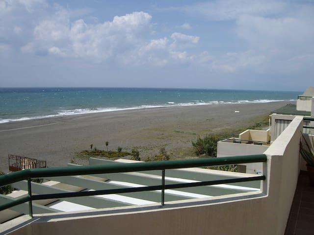 fantastico atico en 1ª linea playa - Benajarafe - Apartment
