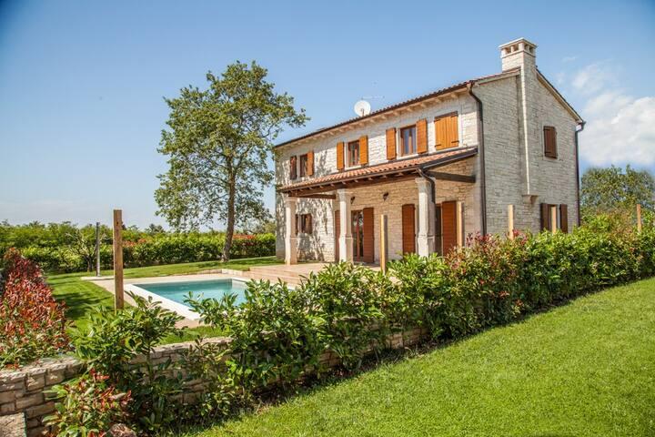 Villa Cecilia, in beautiful Istria