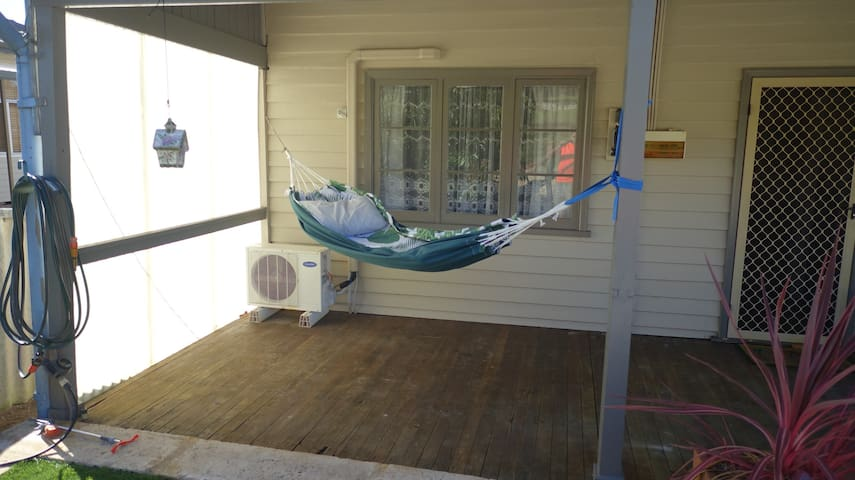 Enjoy a rest in the hammock