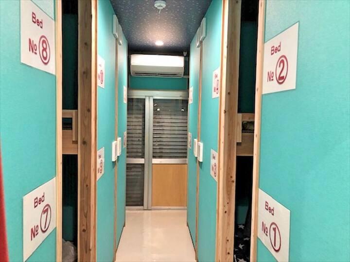 【女性専用ドミトリー】石垣島ゲストハウス#8