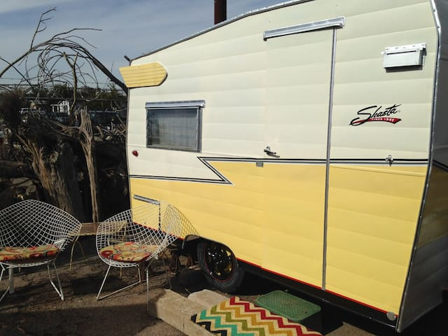 Vintage '65 Travel Trailer