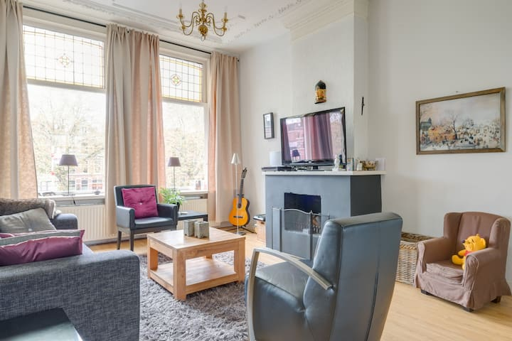 Very spacious family app in centre - Den Haag - Daire