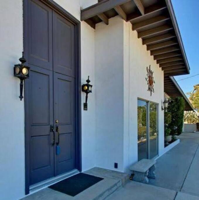 Double Door Entryway