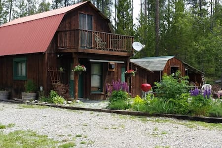 Red Roof Cabin on 3 Acres in the Heart of Glacier