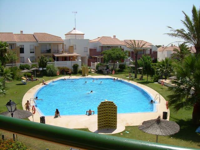Apartamento en Playa de la Barrosa - チクラーナ・デ・ラ・フロンテーラ - アパート
