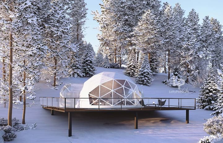 Dome at Bel Air:  perfect mix of luxury & nature