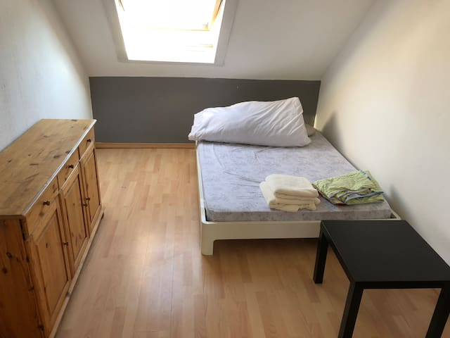 Small Room in Duesseldorf Center
