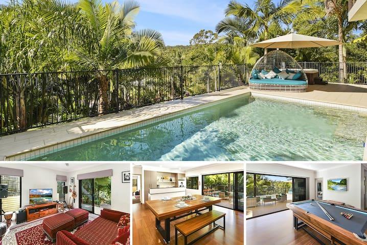 Tanawha Luxury Accommodation Hot Tub & Heated Pool