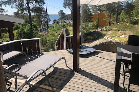 Sommerhus på Larkollen - 300 m fra havet