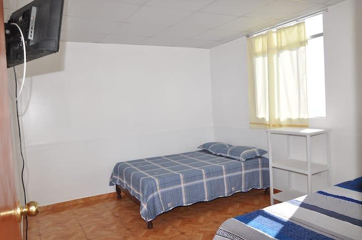 Habitación amplia y cómoda especial