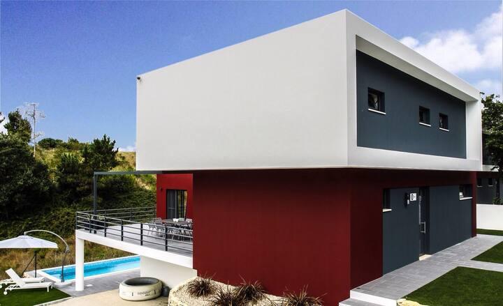 Luxe design villa Alcobaça, Nazaré, PORTUGAL.