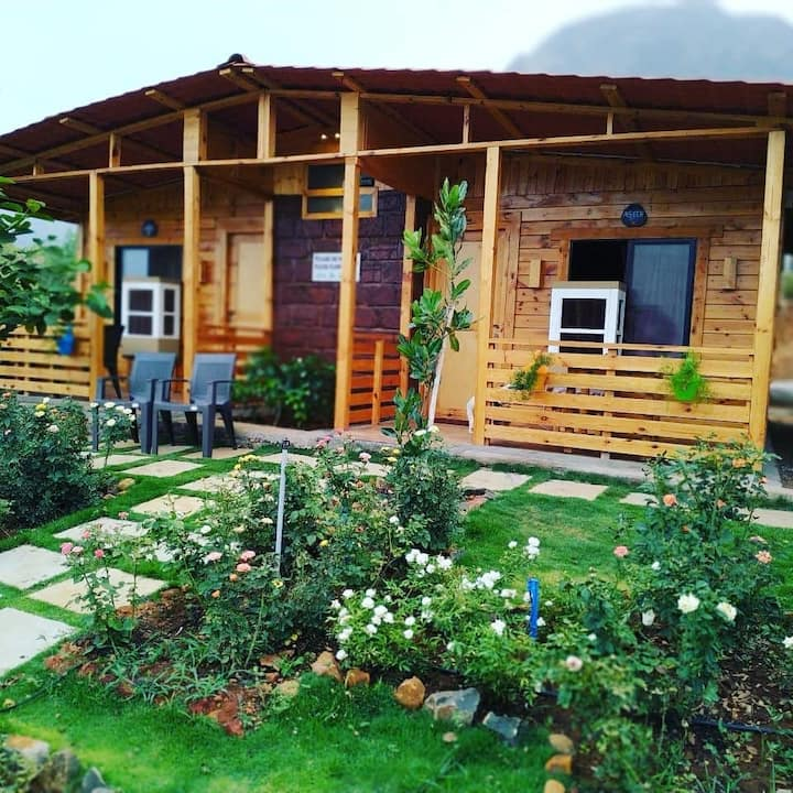 Jv cottage , Farm stay at Mulshi