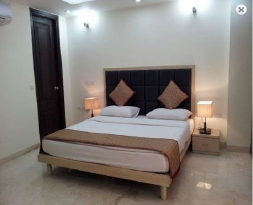 Fully Air-Conditioned and Luxurious Bedrooms