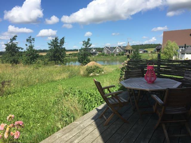 Hyggelig villa i økolandsbyen Hallingelille - Ringsted - Vila